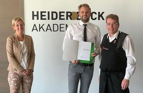 Prüfung zum Diplom Käsesommelier - Außendienstler Andreas Albrecht